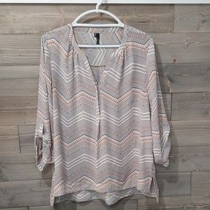 3/4 sleeve Maurices blouse